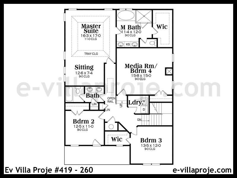 Ev Villa Proje #419 – 260