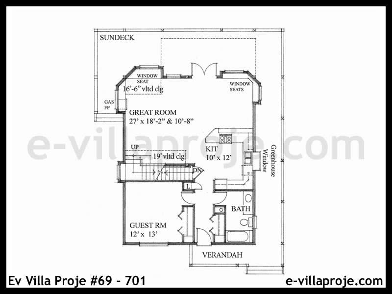 Ev Villa Proje #69 – 701