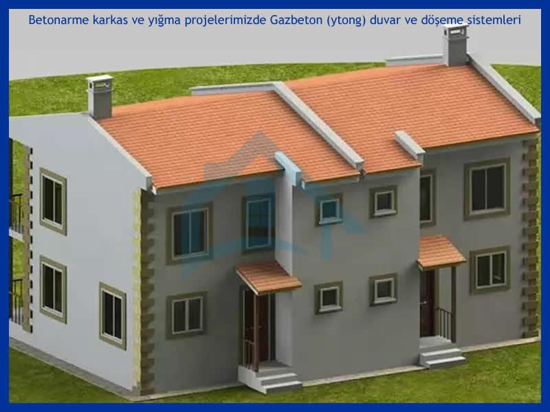Gazbeton, Ytong ile Betonarme Villa Projeleri