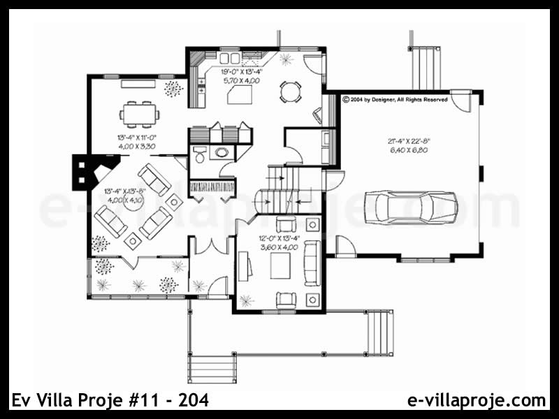 Ev Villa Proje #11 – 204