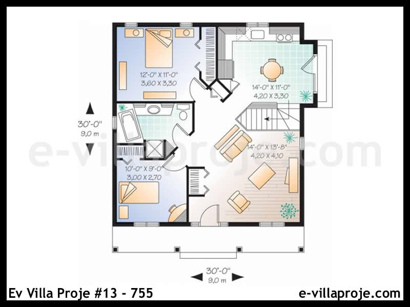 Ev Villa Proje #13 – 755