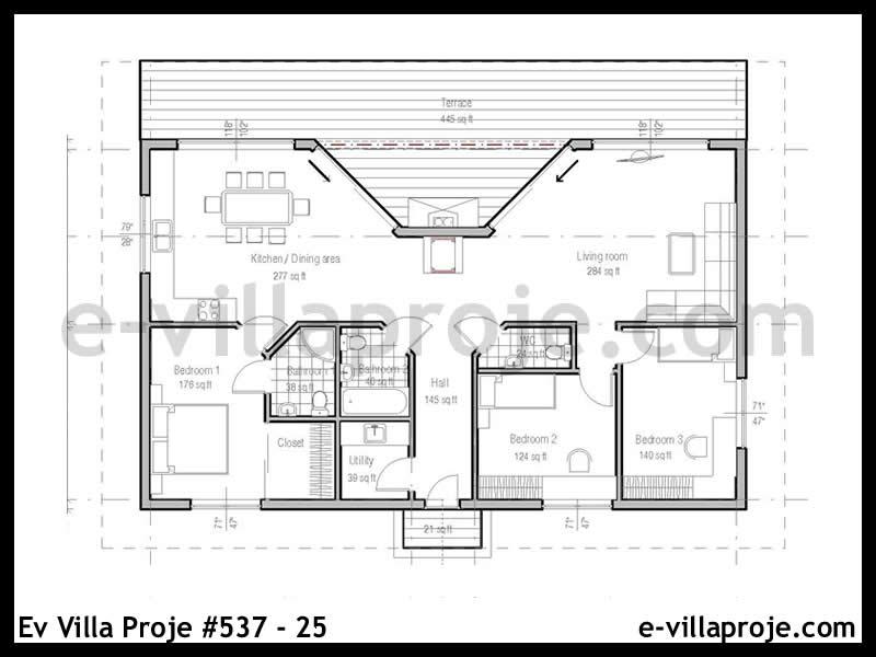 Ev Villa Proje #537 – 25