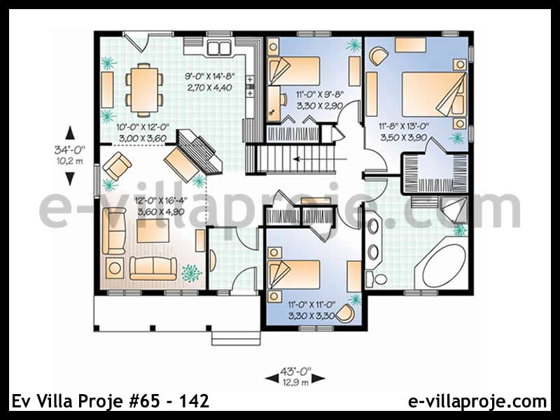Ev Villa Proje #65 – 142