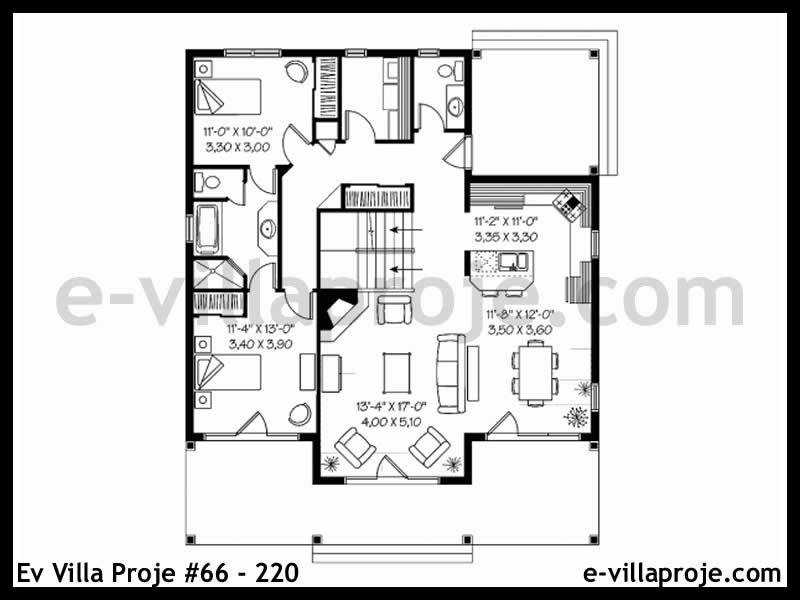 Ev Villa Proje #66 – 220