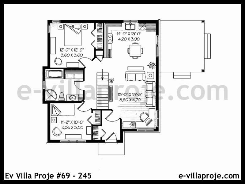 Ev Villa Proje #69 – 245