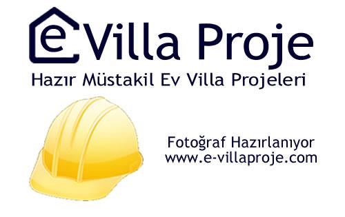 Müstakil Villa Projesi, İki Katlı Villa Plan ve Projeleri